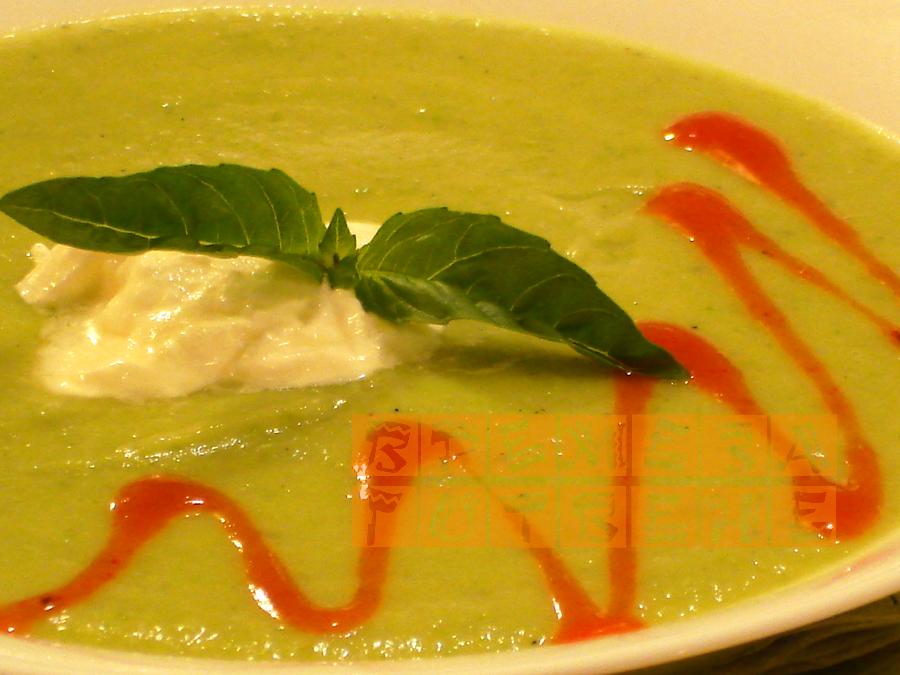 Супа от тиквички с естрагон