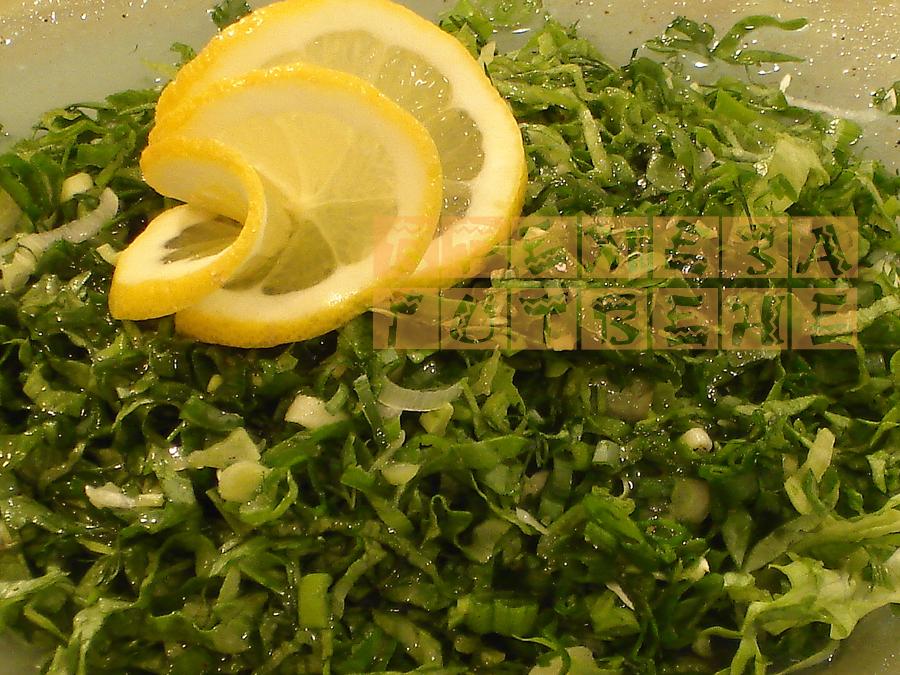 Прасини- гръцка зелена салата