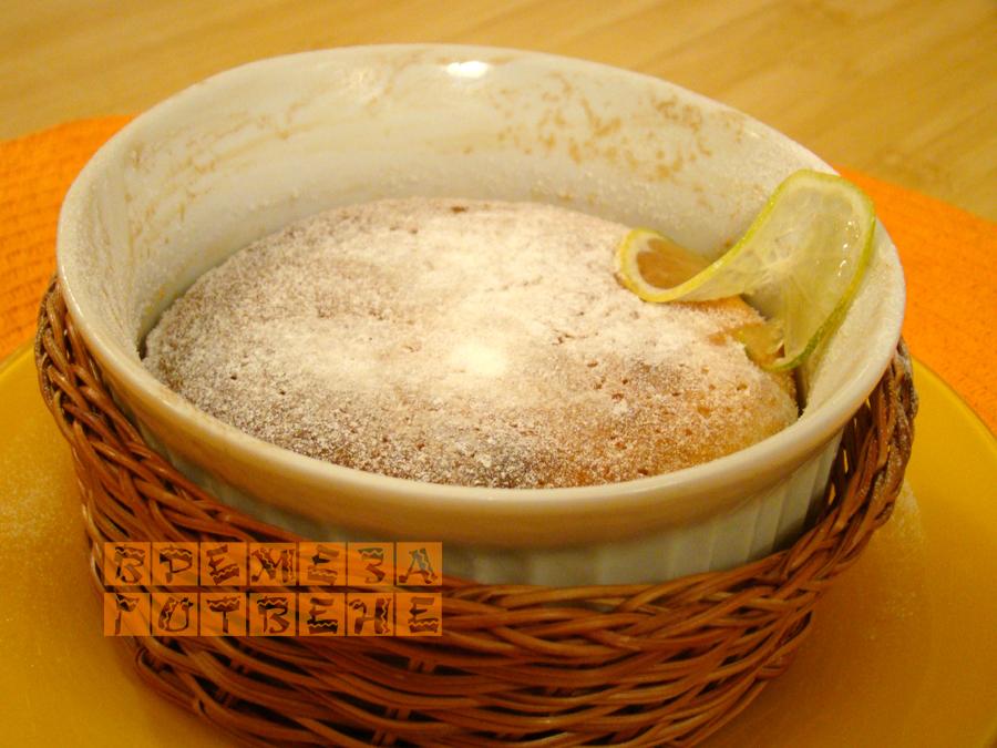 Суфле с лимон и лайм