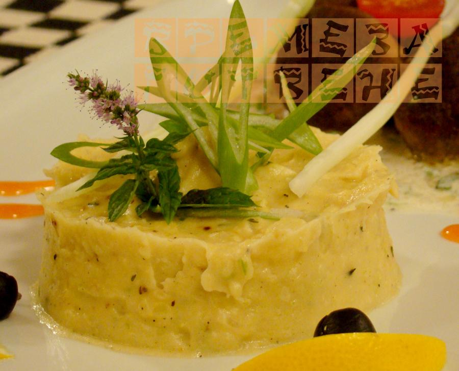 Пюре от картофи и селъри
